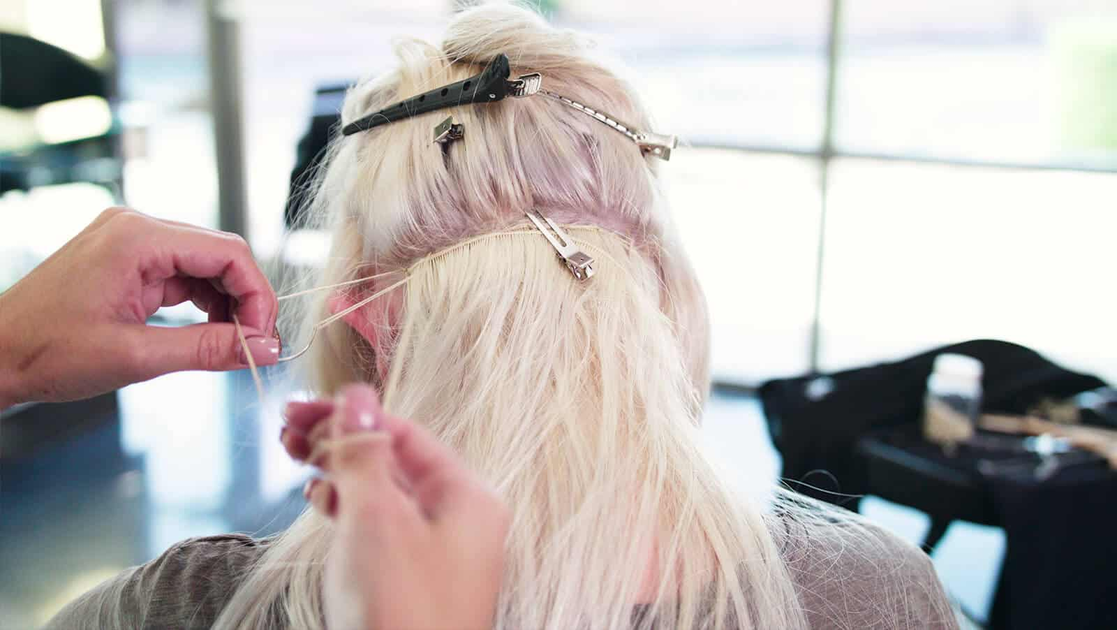 Getting our hands on hand tied wefts the hair standard both installations are time intensive and require an experienced hair stylist while hand tied wefts require additional consideration pmusecretfo Choice Image