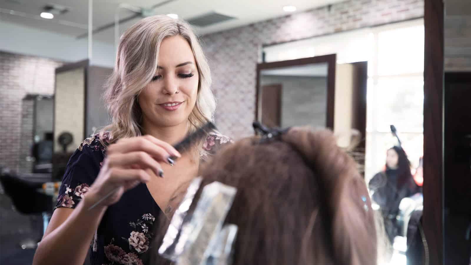 Elena Hansen from The Hair Standard Salon
